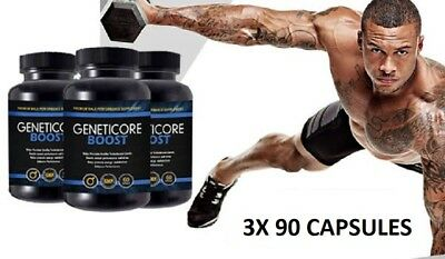 Geneticore Boost (3X 90Caps) Premium Male Performance - Free Shipping Worldwide