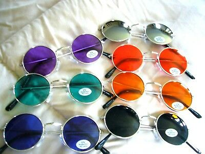 """""""john Lennon Sunglasses """" Classic Round Glasses In A New Ray Of Colors (7008)"""