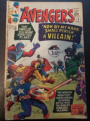 The Avengers #15 now by my hand shall perish a villain