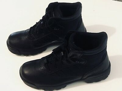 "Bates Men's Ultra-Lites 5"" Soft Toe Work Uniform Military Black Boots SZ 9 US"