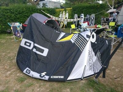 CORE Wave Kite Section 1 neu 11 m² UVP 1499€ Carved weiß