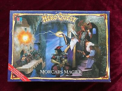 Wizards of Morcar HeroQuest Morcars Magier Erweiterung Expansion