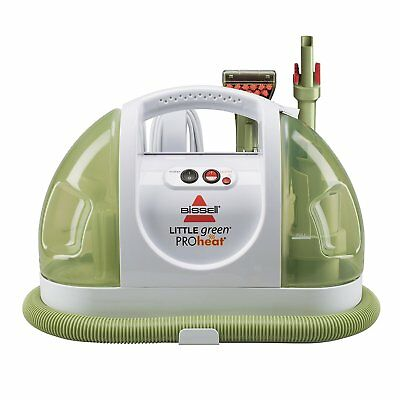 BISSELL Carpet Cleaner Portable Vacuum Little Green ProHeat Clean Upholstery New