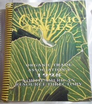 Healthy References - Spiral Bound Organic Assoc. Resource Directory ©1998 ~74bk