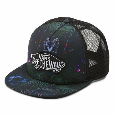 Brand New Boys Vans Classic Patch Youth Adjustable Snapback Trucker Neo Jungle