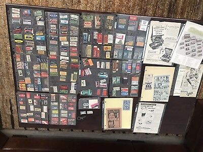 Rare Lot of Vintage Advertising Safety RAZOR BLADES  over 200 many different