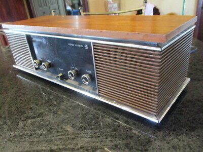 Vintage 1974 Panasonic Stereo Multiplex Re-7300 Am Fm Stereo Guc Tested Retro