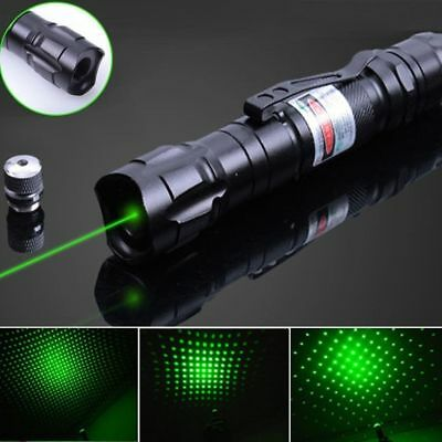 !SALE! Professional 1mw 532nm 8000M Powerful Green Laser Pointer Light Pen Beam