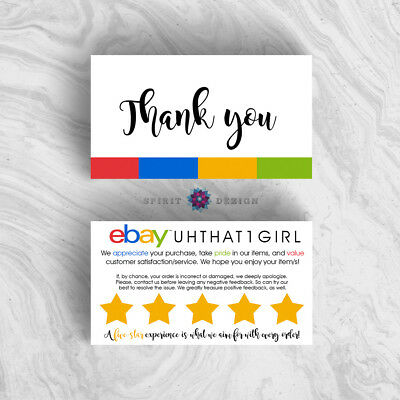 Business cards ebay image collections card design and card template feedback request cards ebay seller 250 business cards 2799 250 ebay simplicity business cards reheart image reheart Gallery