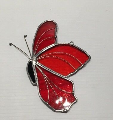 Tiffany Stained Glass Collectors Society Butterfly Sun Catcher