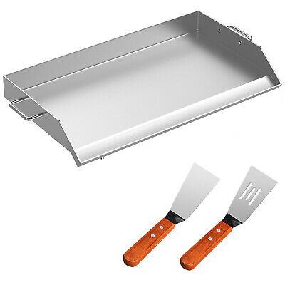 "36"" x 22"" Stainless Steel Griddle Flat Top Grill For Triple BBQ Stove Heavy duty"