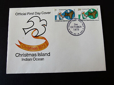 Christmas Is 1973  -CHRISTMAS First Day Cover