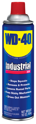 Wd-40 WD40 Lubricant 16 oz. INDUSTRIAL Container Size 490088 Metal Lubricant-WOW