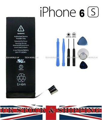 NEW Genuine Replacement HIGH CAPACITY Battery 1715mah for APPLE IPHONE 6S +TOOLS