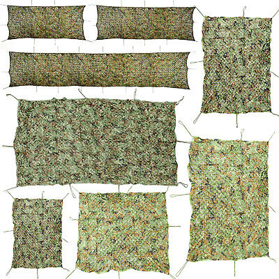 Oxford Fabric Camouflage Net/Camo Netting Hunting/Shooting Hide Army 8 Sizes