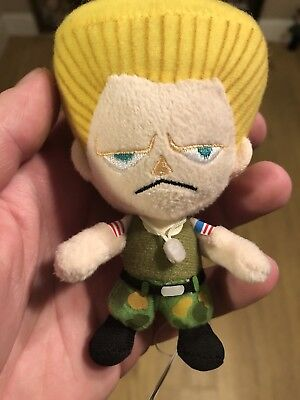 Street Fighter Guile Character Soft Plush Capcom/Amuse
