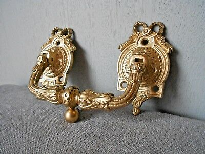 Antique FAB  french solid bronze Door Knocker  LOUIS XVI style - 1900's-