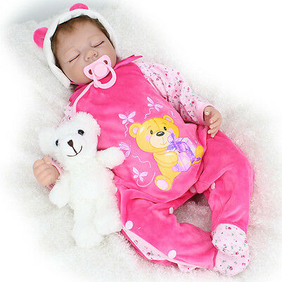 1PC Reborn Baby Doll Pink Magnetic Dummy Pacifier Dolls Supplies Accessories UK