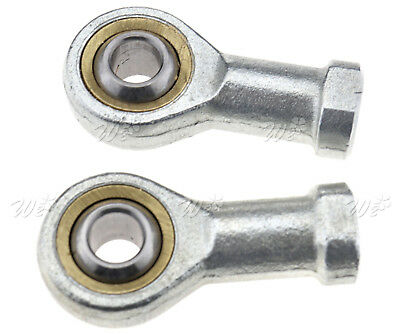 2X M6x1mm Female Performance Rod End Right Hand Thread Rose Joint Bearing 6mm AU