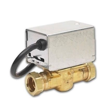 Honeywell 22mm 2 Port Motorised Zone Valve with Removable Actuator V4043 272848