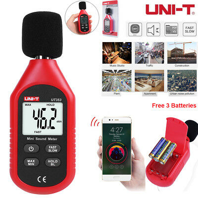 UNI-T UT353 Digital Sound Noise Level Meter Decibel LCD Detector Tester 30~130dB