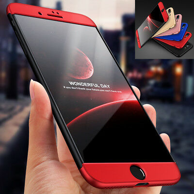 iPhone 8 7 Plus Ultra Slim Hybrid Shockproof Armor Hard Thin Case Cover Fr Apple