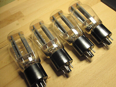 5X4g tube quad rectifier MARCONI U52 MADE IN ITALY nos x4 5U4g 1950's 274b 274a