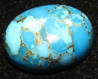 23.60 Ct Tremendous Certified Oval Shape Natural Copper Turquoise Gemstone. eBay