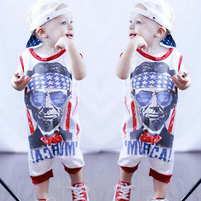 AU STOCK Toddler Infant Baby Boys Girls Romper Bodysuit Jumpsuit Outfits Clothes
