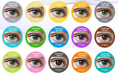 Super Natural Colored Contact Lenses Kontaktlinsen Lens Color 1 Year Fresh