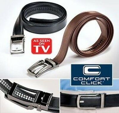HOT 2017!NEW Comfort Click Belt for Men Black or Brown As Seen on TV