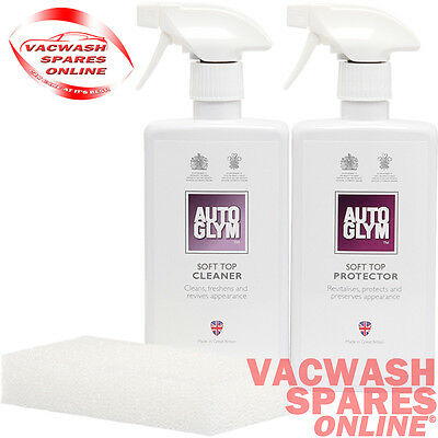 Autoglym Convertible Soft Top Cleaner And Protector Kit Fabric - Mohair - Canvas