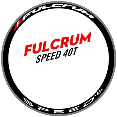 fulcrum xlr 35 Carbon Wheel Rim Decals//Stickers Set of 16 decal FOR 35 Road Bike