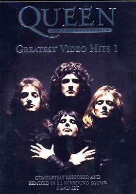 QUEEN DVD COLLECTION GREATEST VIDEO HITS 1 DVD Music Video Concert UK Rel NEW R2