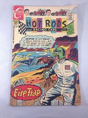 Hot Rods and Racing Cars #107 Charlton 1971  Clint Curtis Road Knights Fine