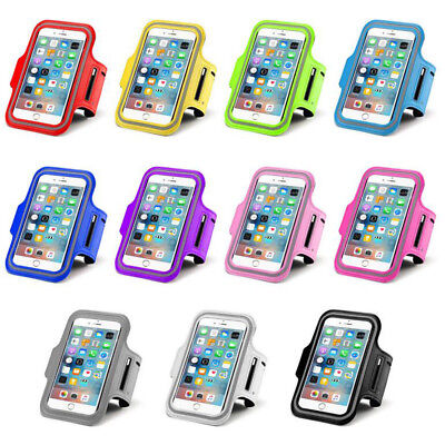 Sports Jogging Gym Running Armband Pouch Case Cover For Apple / SamSung Phone