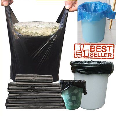 """28"""" Large Plastic T-Shirt Bags with Handles Wholesale Price! Shop Market Home MY"""