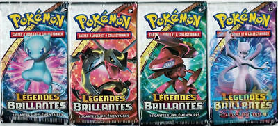 Pokemon - 10 Booster  Legendes Brillantes SL 3.5 - VF - Francais Neuf! Scellé!