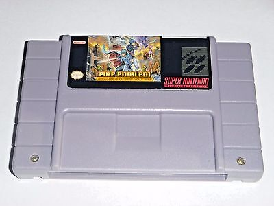 Fire Emblem - Genealogy of The Holy War - game For SNES Super Nintendo - RPG