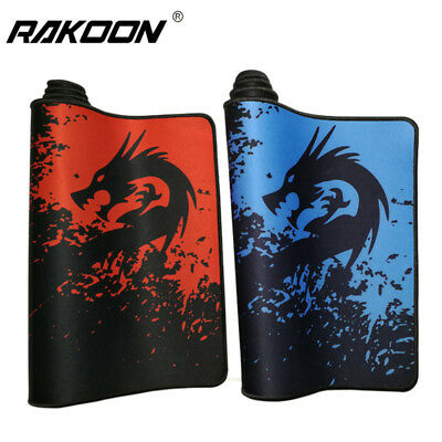 Professional Gaming Mouse Pad Gamer Red/Blue Dragon 30x80cm Large Mousepad