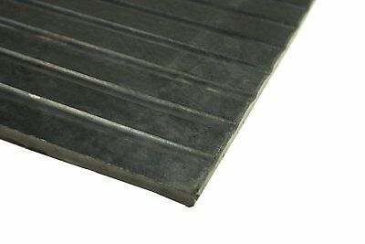 """Erie Tools 4x6 Rubber Anti-Fatigue Floor Mat 48"""" x 72"""" for Stables Gym Garage"""