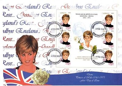 Aserbaidschan 415/16 2 FDC Diana (2690)