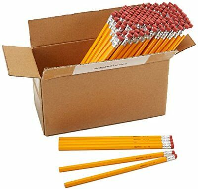 Box of 144 Wood Cased Pencils #2 HB For Home School Office Supplies Adult Kids