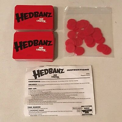 Hedbanz Board Game Replacement Parts Pieces Head Bands Headbands