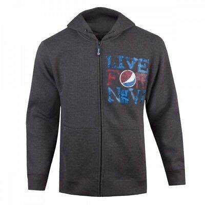New Pepsi Live for Now Full zip Hoodie Size Large Free Shipping