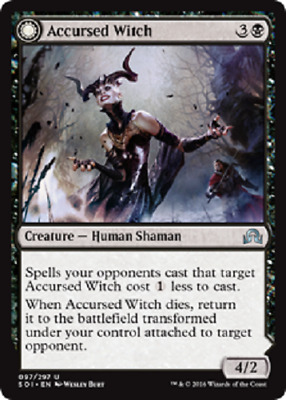 MTG - Shadows Over Innistrad (SOI) Black Cards 097 to 144