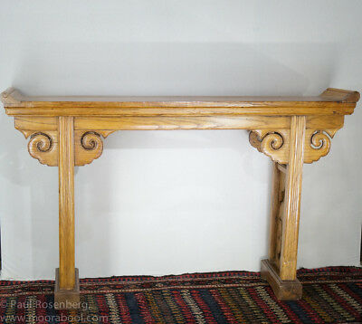 Chinese elm altar table, 19th century
