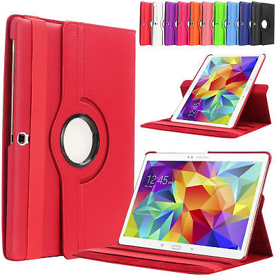 """360 Rotating Leather Case Cover for Samsung Galaxy Tab S T800 10.5"""" - ALL Colour"""