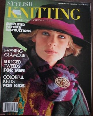 Stylish Knitting Magazine American Designer Knitting Patterns Book