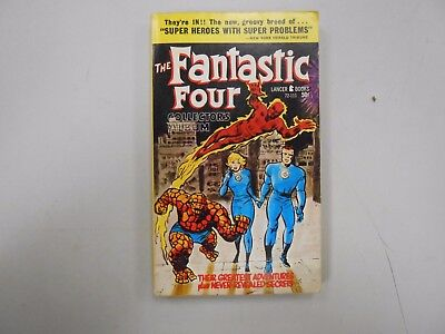 The Fantastic Four Collector's Album by Stan Lee and Jack Kirby! (1966, Lancer)!